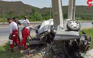 عکس هولناک از تصادف پژو پارس