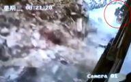 فرار معجزه آسا زن جوان در زنده به گور شدن در کوچه! +فیلم