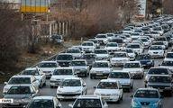 تصاویر: ترافیک سنگین در جادههای ییلاقاتی مشهد