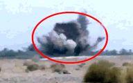 لحظه برخود خودروی پلیس ایرانشهر با تله انفجاری تروریستها +فیلم