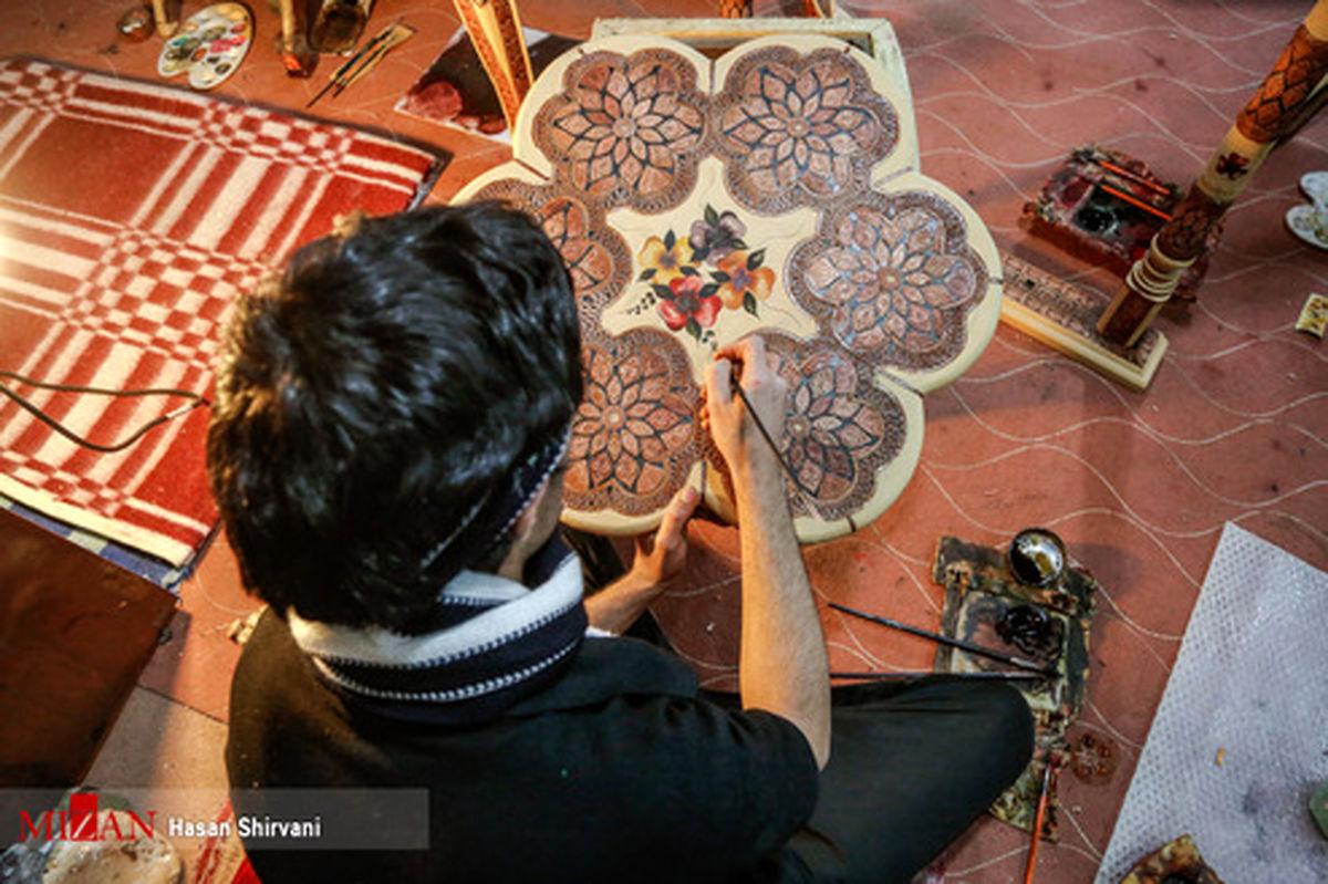 تصاویر: کارگاه صنایع چوب و چرم در زندان اصفهان