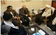 وزیر اقتصاد با آیتالله صافی گلپایگانی دیدار کرد