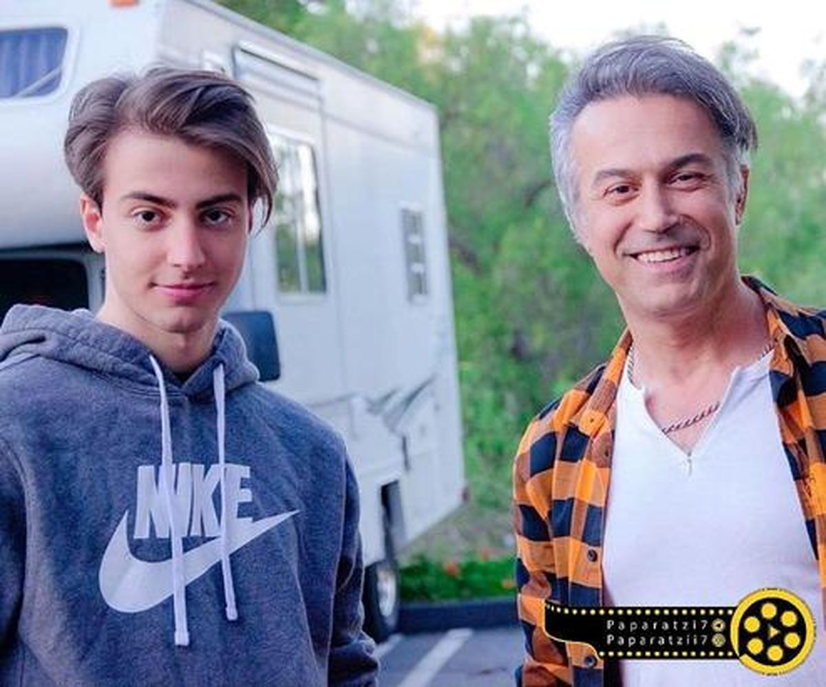 شباهت باورنکردنی دانیال حکیمی و پسرش +عکس