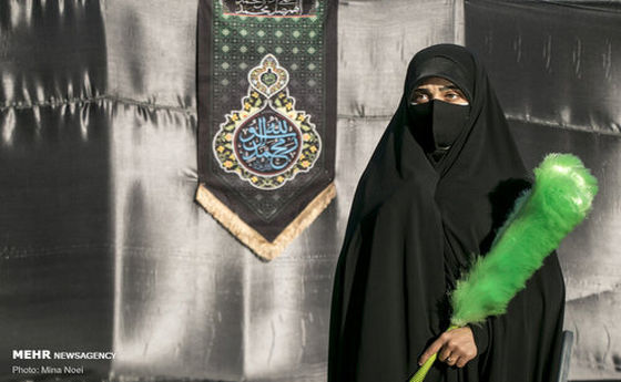 تصاویر: عزاداری اولین روز محرم در محوطه باز مصلی تبریز
