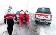 امدادرسانی به ۱۰۸۴ نفر در حوادث جوی
