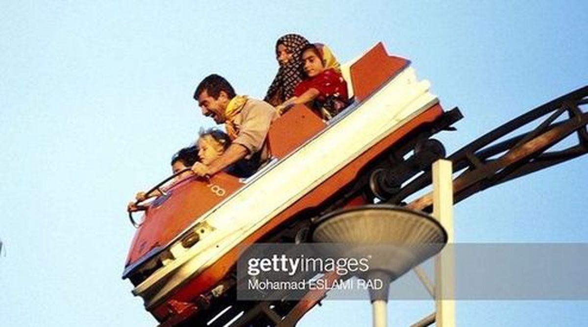 سرگرمی خانواده تهرانی در سال ۷۵ +عکس