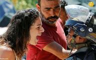 تصاویر: مقاومت زن فلسطینی برای جلوگیری از تخریب خانهاش