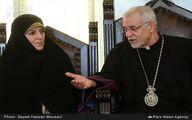 دیدار مولاوردی با اسقف اعظم ارامنه/عکس