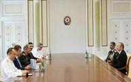 وزیر دفاع و رئیس ستادکل ارتش ترکیه با «علیاف» دیدار کردند