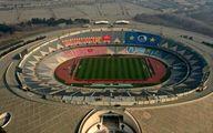 نمایی دیدنی از ورزشگاه آزادی در آستانه دربی ۹۴ +عکس