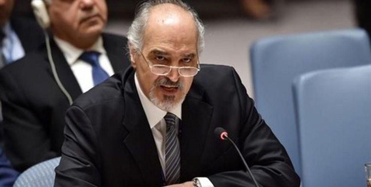 الجعفری: دولت جدید آمریکا به غارت سوریه پایان دهد