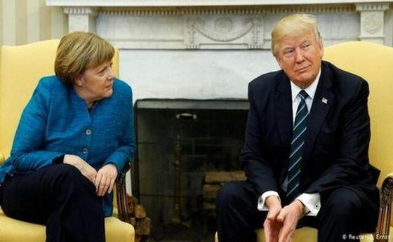 چرا ترامپ از مرکل متنفر است؟
