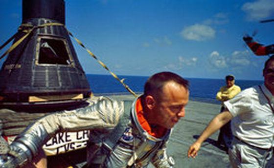 نخستین فضانورد «دنیای آزاد»! +تصاویر
