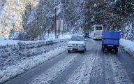 برف و باران در جادههای ۱۱ استان