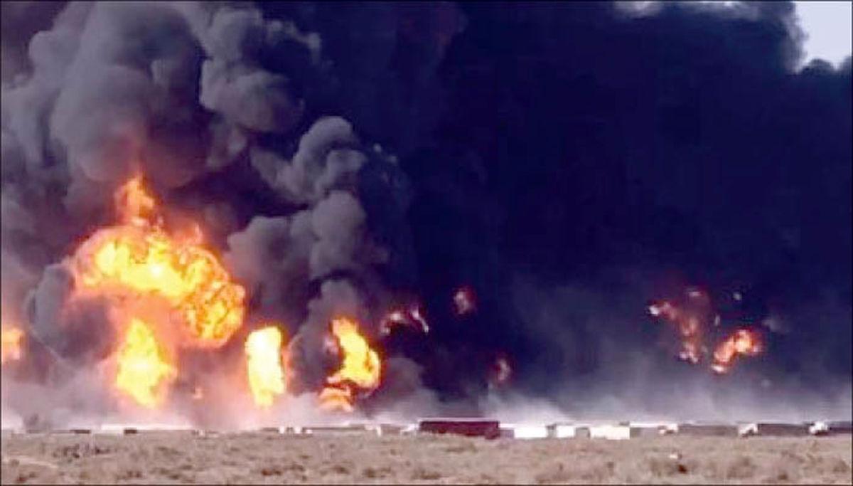 جهنم در مرز دوغارون با 50 کشته