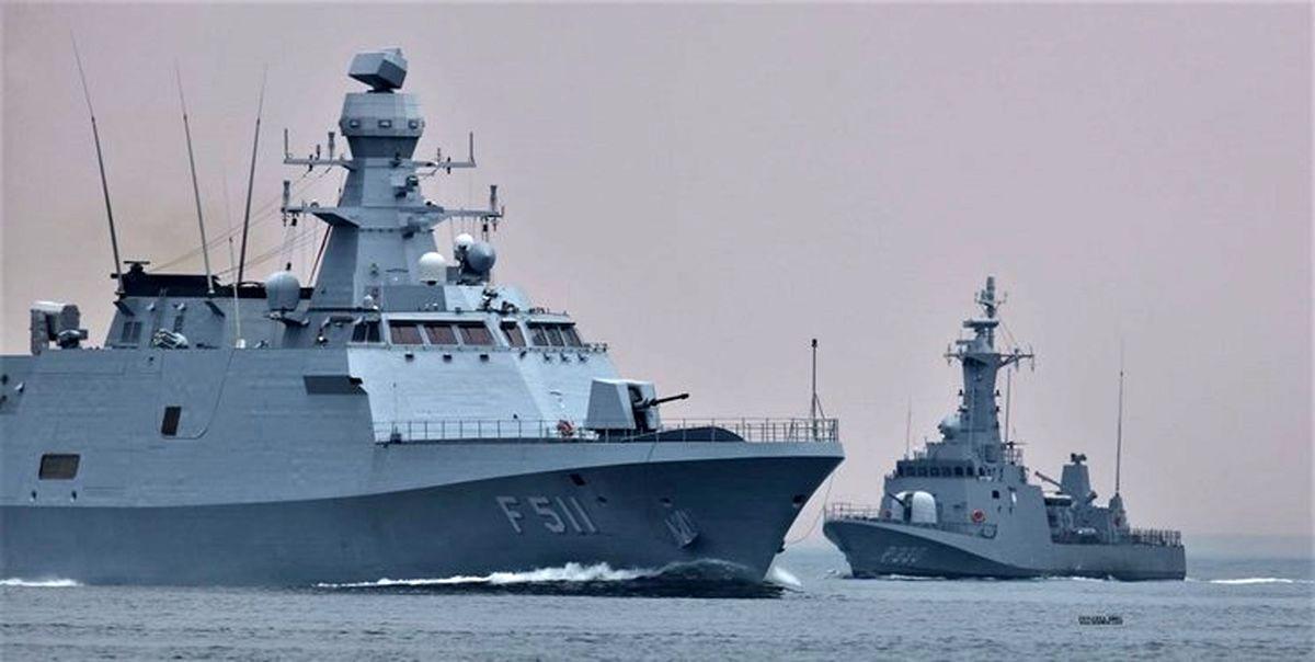 آخرین اخباز از رزمایش دریایی ترکیه در مدیترانه