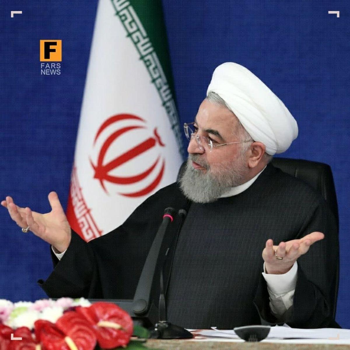 روحانی: اجازه ندادیم در کشور قحطی بیاید