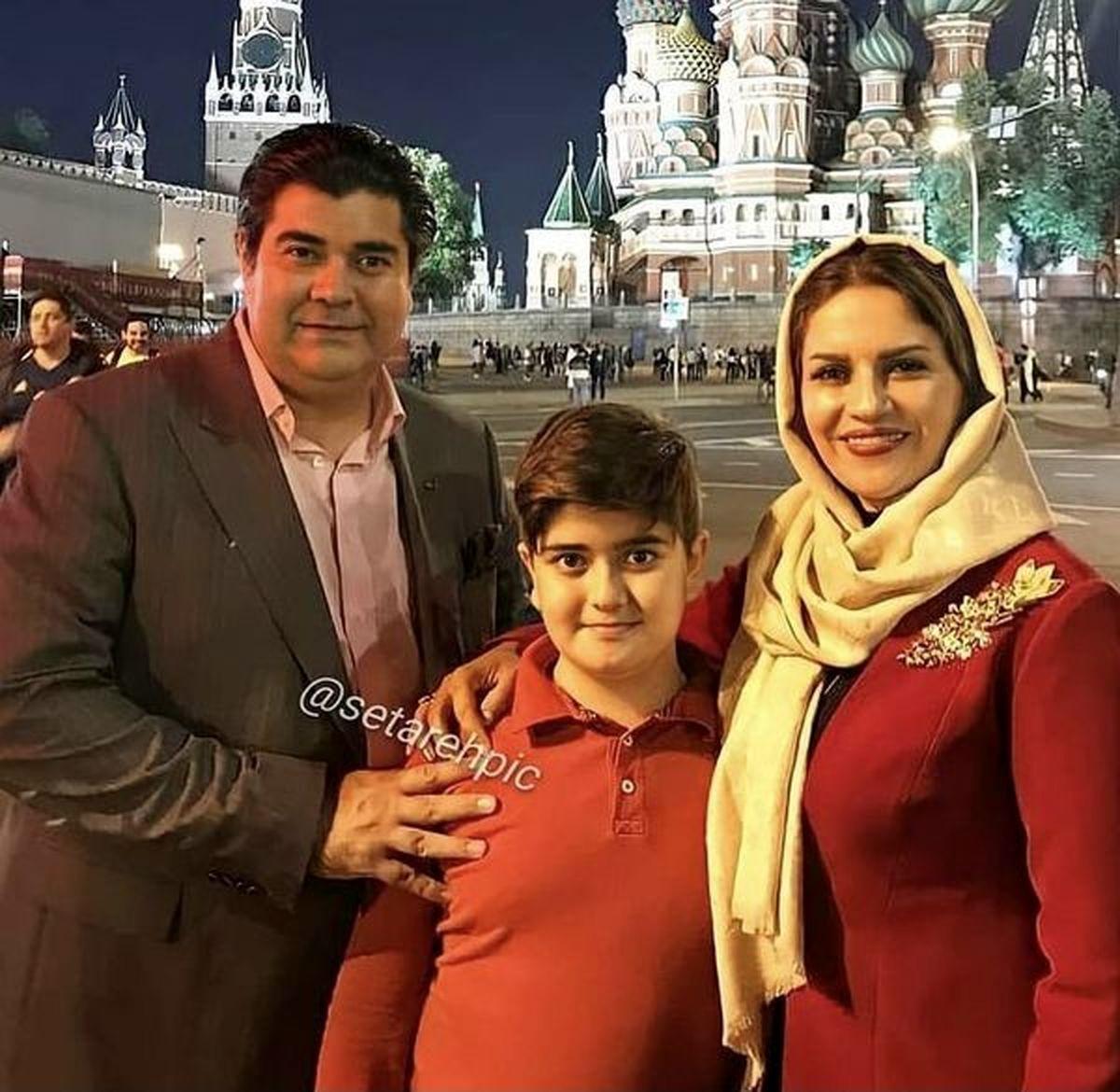 مهاجرت سالار عقیلی و خانواده به روسیه؟ +عکس
