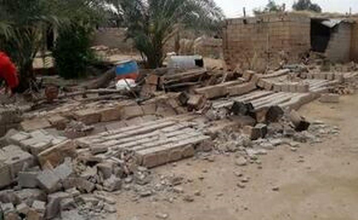 ریزش وحشتناک کوه هنگام زلزله شدید گناوه/ وضعیت نیروگاه اتمی بوشهر پس از زلزله امروز گناوه