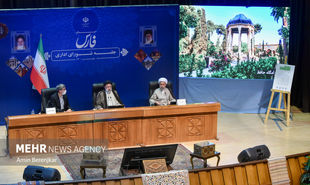 تصاویر: جلسه شورای اداری استان فارس با حضور رئیس جمهور