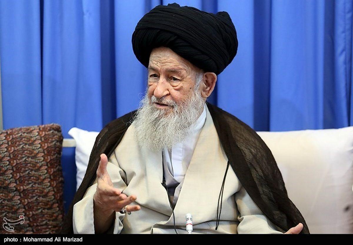 اعتراض آیتالله علویگرگانی به مسئولان: به دادِ خوزستان برسید