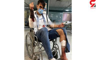 حمله باقمه به فوتبالیست لیگ برتر ایران +عکس