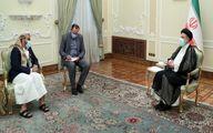 دیدار آیت الله رئیسی با فرستاده ویژه دولت نجات ملی یمن