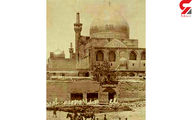 حرم امام رضا در دوران قاجار +عکس