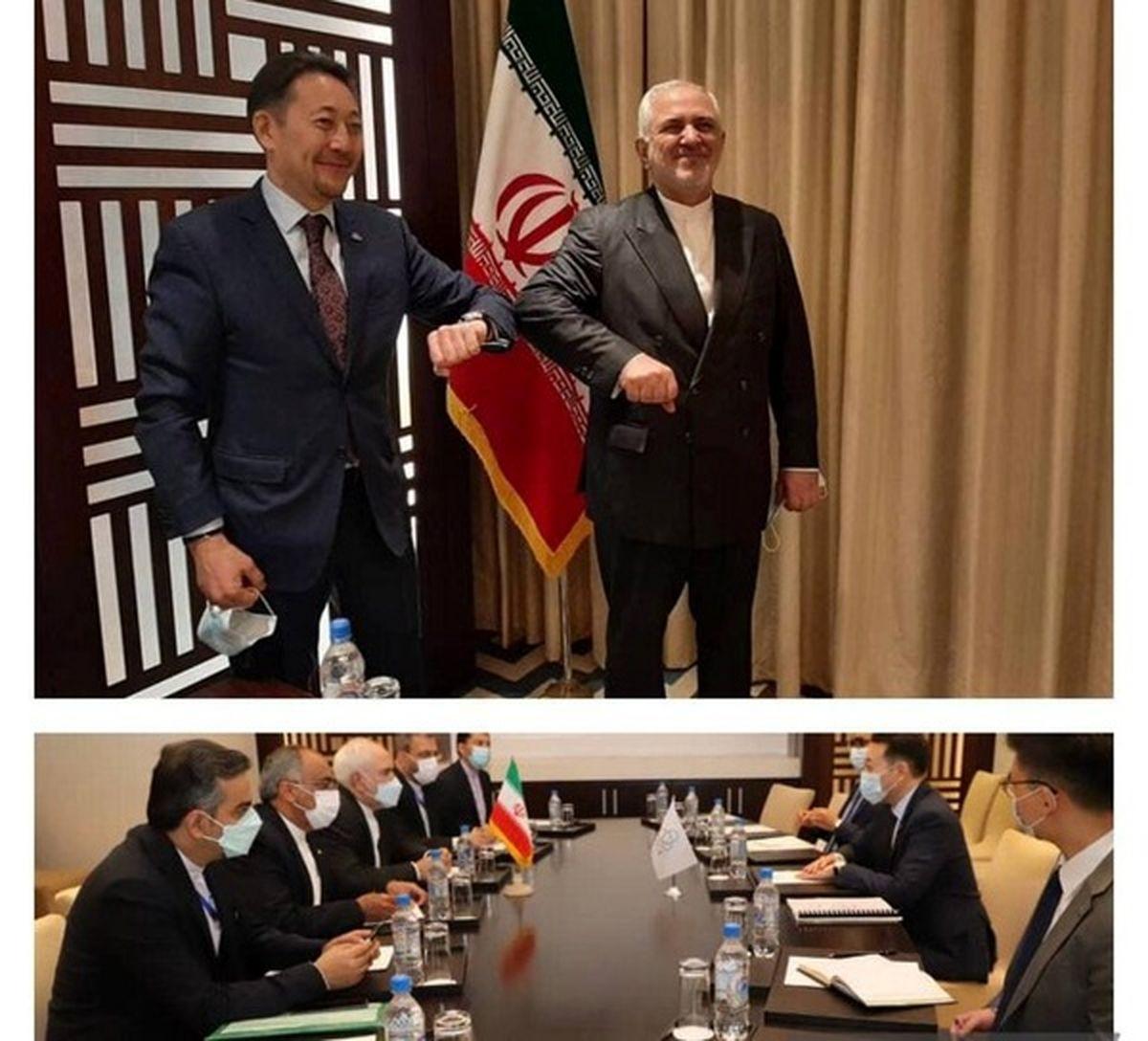 دیدار ظریف با دبیر اجرایی سیکا +عکس