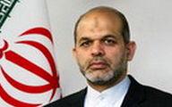 ورود وزیر کشور به خوزستان +فیلم