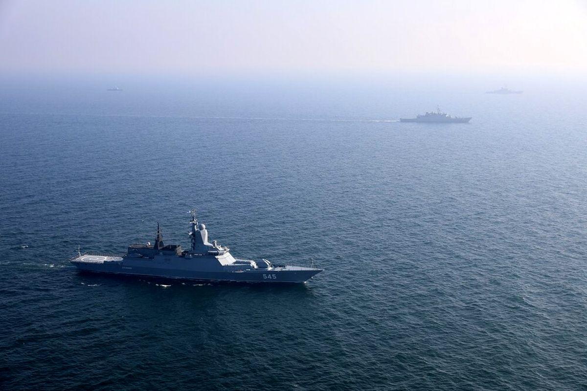 اجرای عملیات آزادسازی کشتی ربوده شده در رزمایش