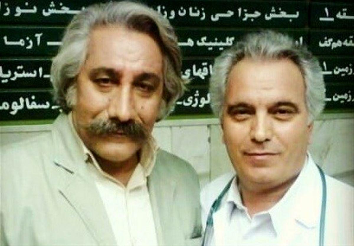 بازیگر قدیمی ایرانی درگذشت +عکس