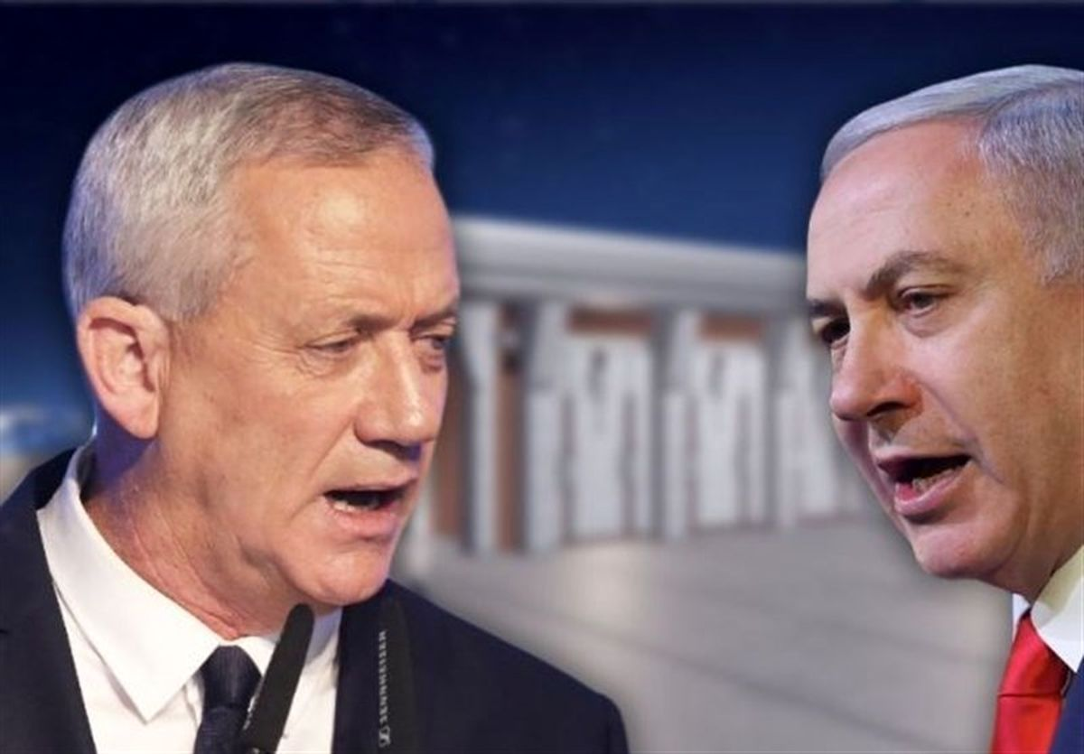 هشدار گانتس درباره بروز جنگ داخلی در رژیم اسرائیل