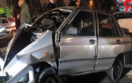 مرد لاکچری سوار تهرانی با تویوتا 7 ماشین را له و فرار کرد