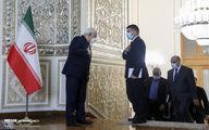 تصاویر: استقبال ظریف از وزیر خارجه عراق