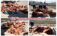 دستگیری یک قصاب با ٤٥٠ کیلو گوشت الاغ؟! +عکس