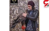ماجرای عجیب عقاب اجارهای خواننده ایرانی +عکس