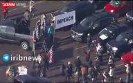 تظاهرات ضد ترامپ در دنور +فیلم