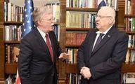 «جان بولتون» با رئیس رژیمصهیونیستی دیدار کرد