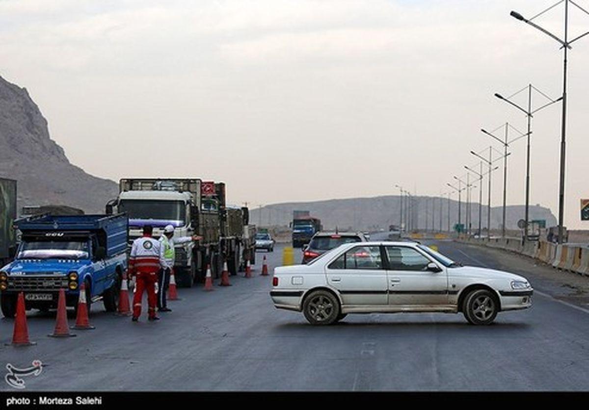تصاویر: محدودیت تردد - اصفهان