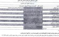 هزینه سبد معیشت خانوار ۴ نفره/جدول