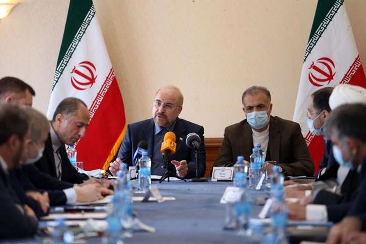 خبر قالیباف از ایجاد ۲ هاب مالی و لجستیکی ایران و روسیه