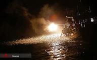 تصاویر: صید عجیب ماهی با آتش در تایوان