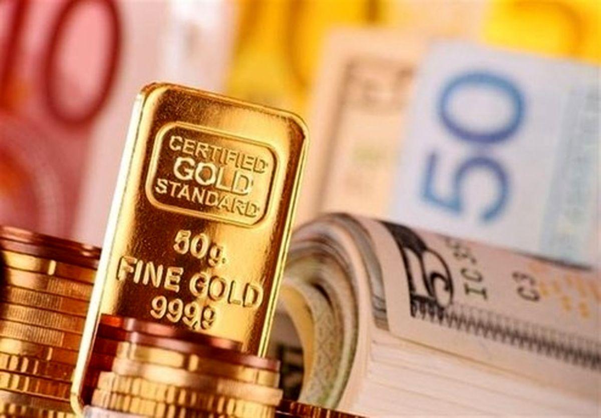 ارزانی طلا و ارز در بازار امروز ۹۹/۱۱/۱۳؛ دلار چقدر قیمت خورد؟