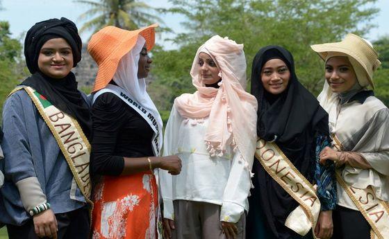 ملكه های زيبايي در اندونزي/عکس