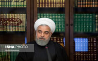 عکسی متفاوت از رئیس جمهور در جلسه شورای عالی فضای مجازی