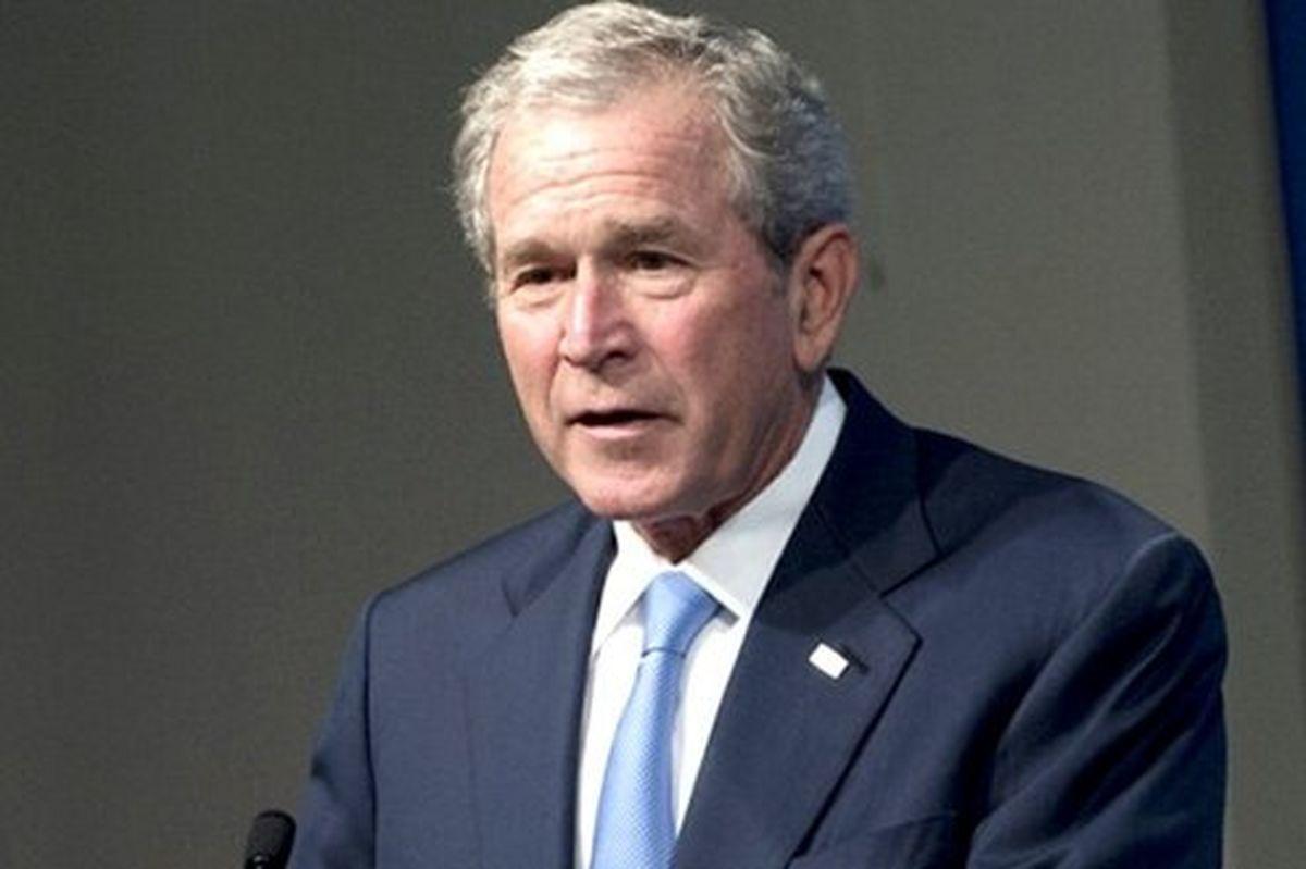 «جورج بوش پسر» در مراسم تحلیف «جو بایدن»