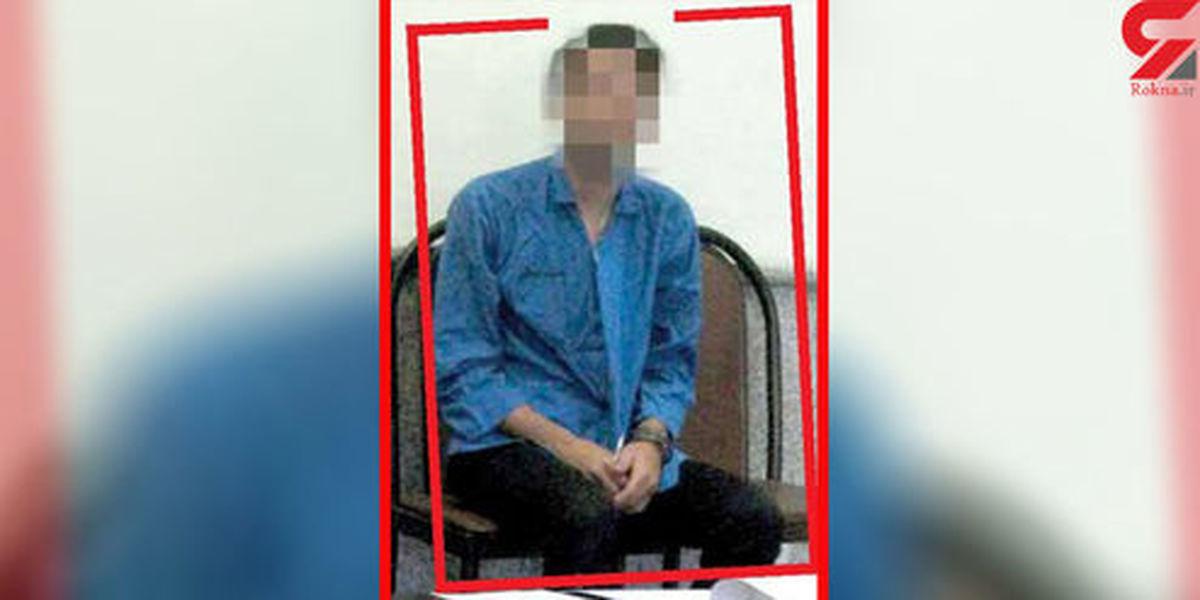آزار شیطانی بچه طلاق توسط بهادر خلافکار در کوچه خلوت تهران +عکس