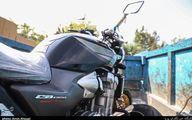 توقیف موتورسیکلت ۶۰۰ میلیون تومانی +عکس