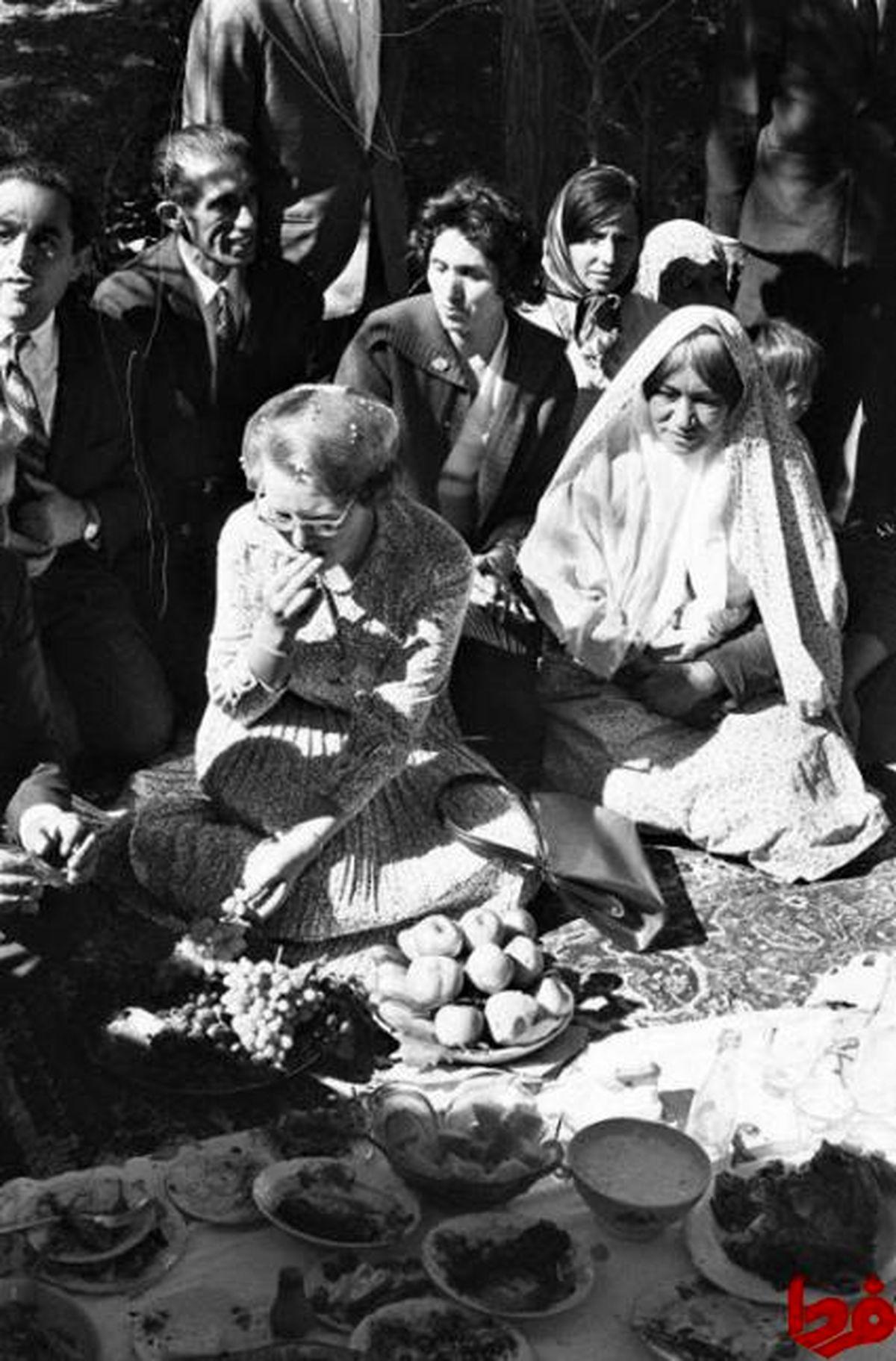 عکس: پذیرایی روستائیان ایرانی از ملکه هلند!